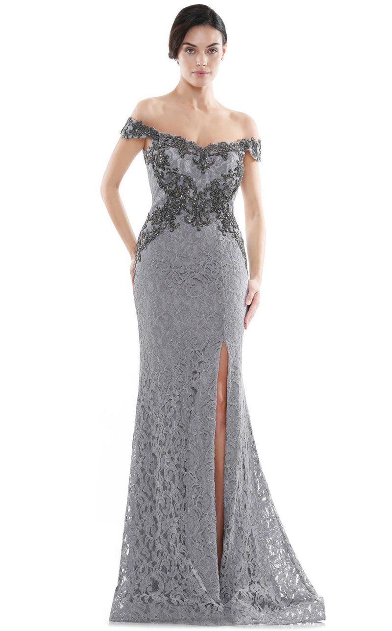 Rina Di Montella RD2714 Dress Blue-Grey