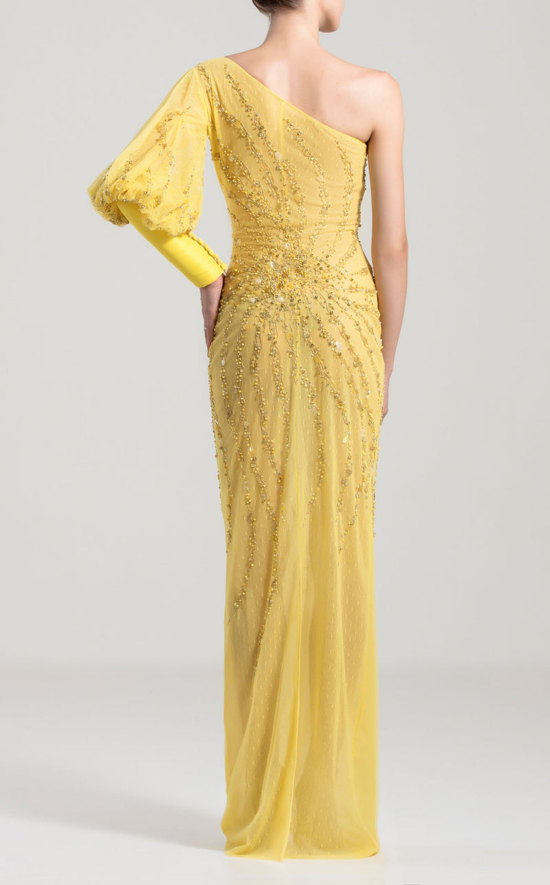 Saiid Kobeisy RTWSS2024 Dress Yellow