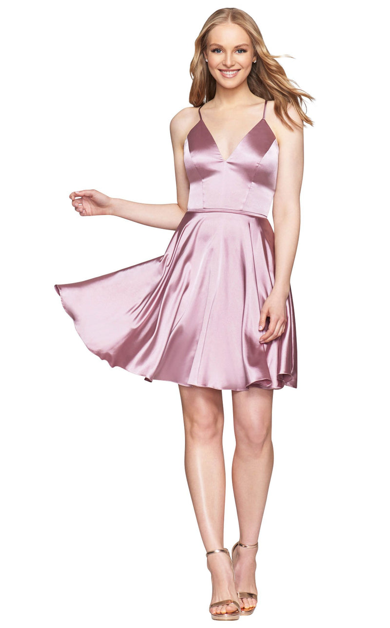 Faviana S10362 Dress Deep-Mauve