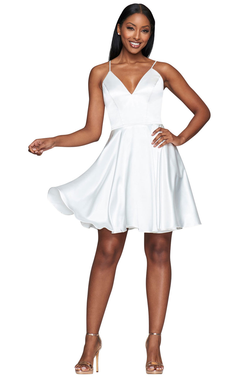 Faviana S10362 Dress Ivory