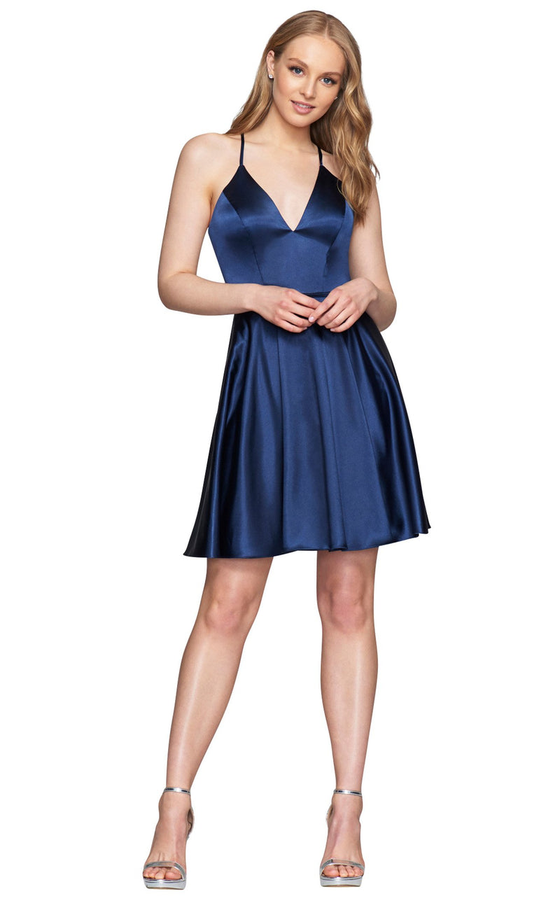 Faviana S10362 Dress Navy