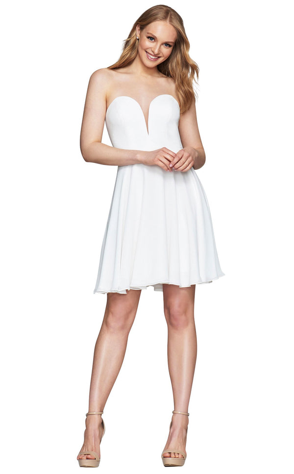 Faviana S10368 Dress Ivory