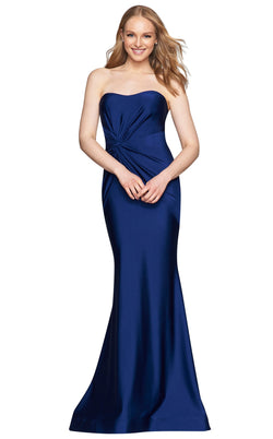 Faviana S10381 Dress Navy