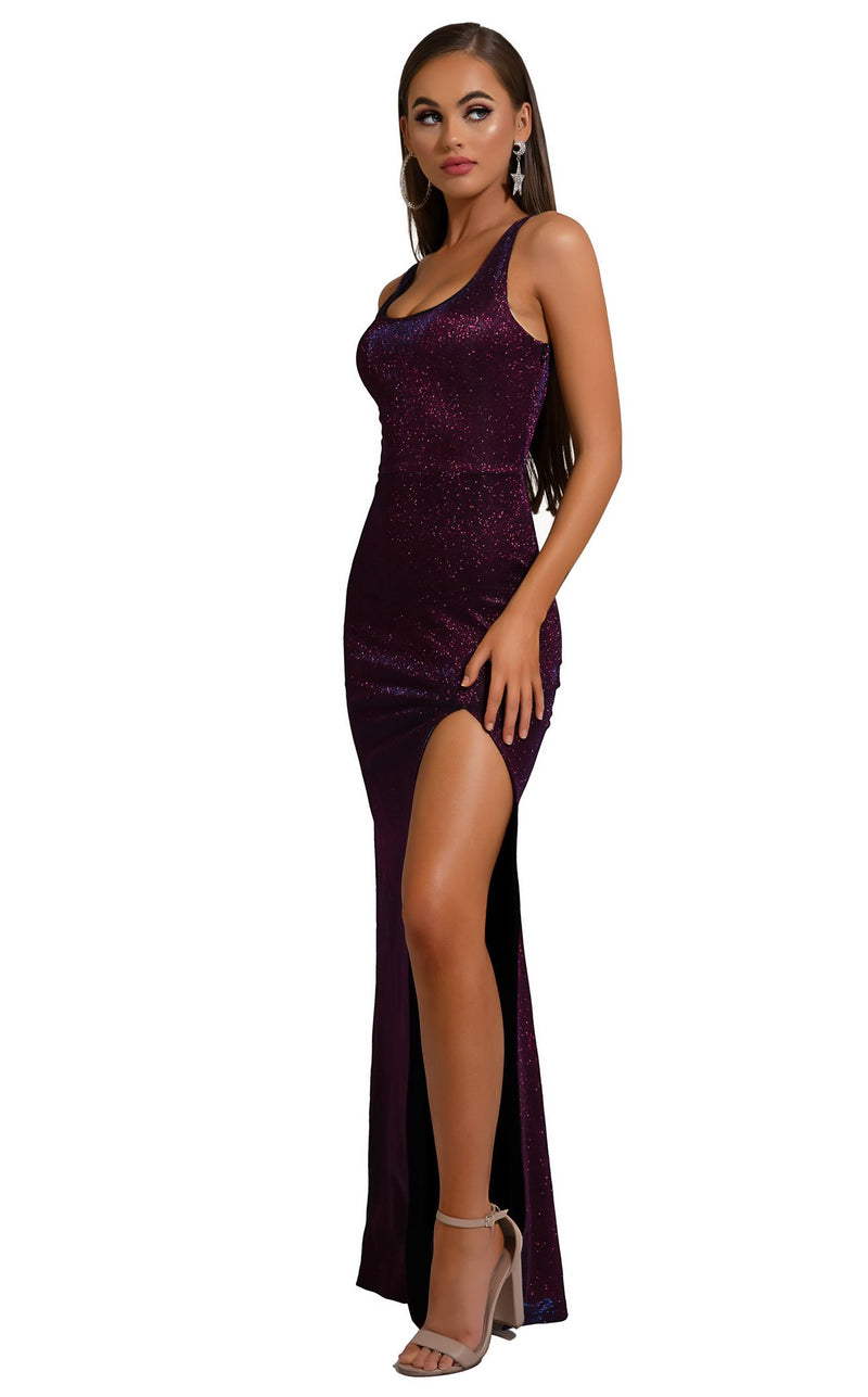Portia and Scarlett S103 Dress Purple