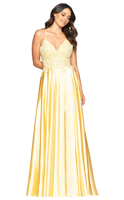 Faviana S10400 Dress Buttercream