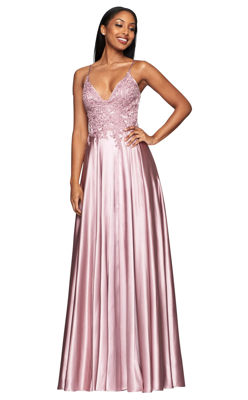 Faviana S10400 Dress Deep-Mauve