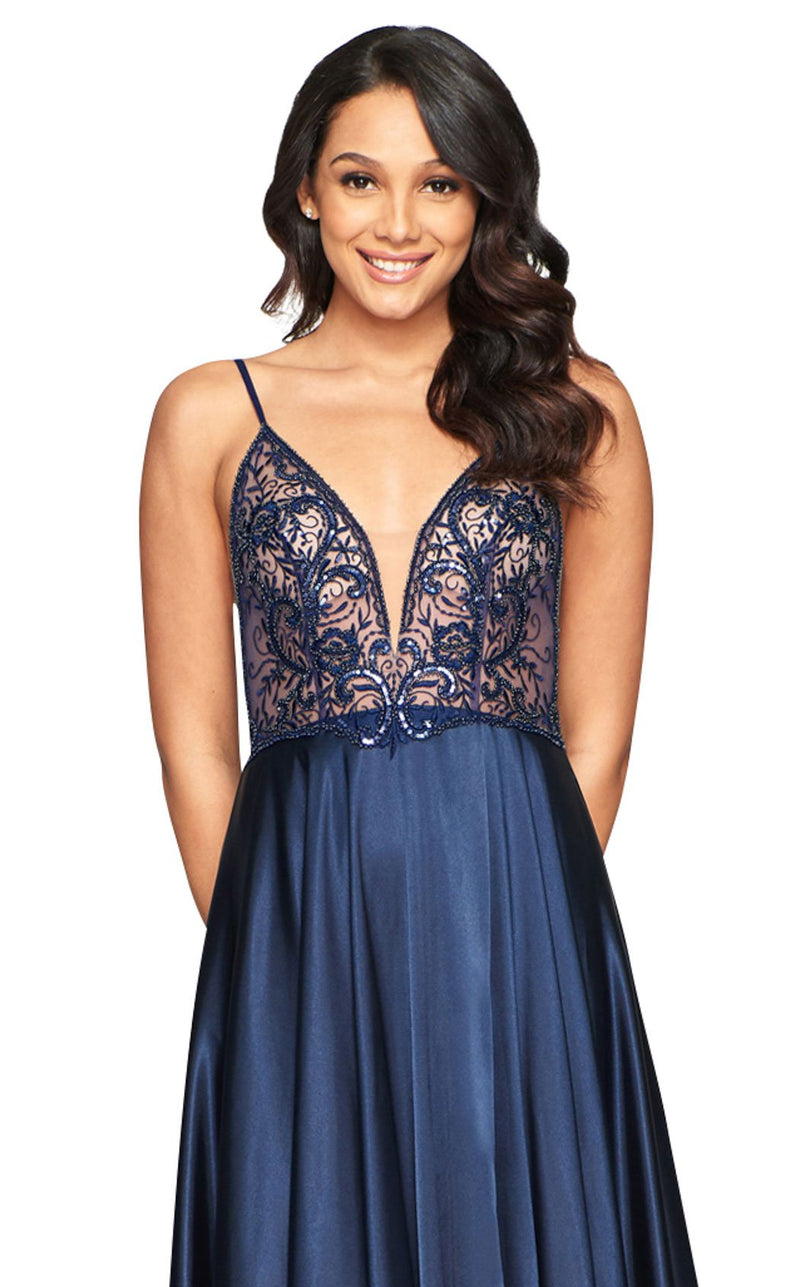 Faviana S10401 Dress Navy