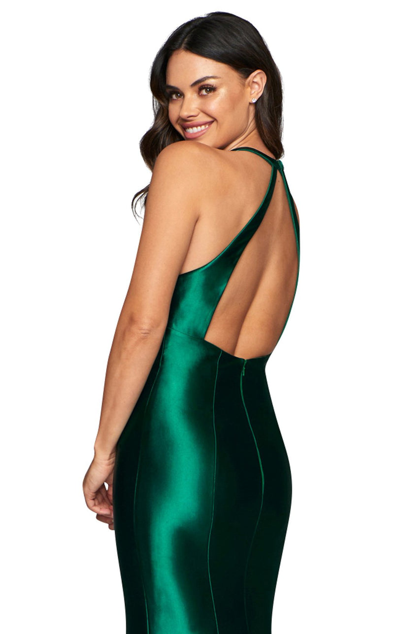 Faviana S10412 Dress Dark-Emerald