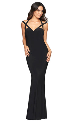 Faviana S10417 Dress Black