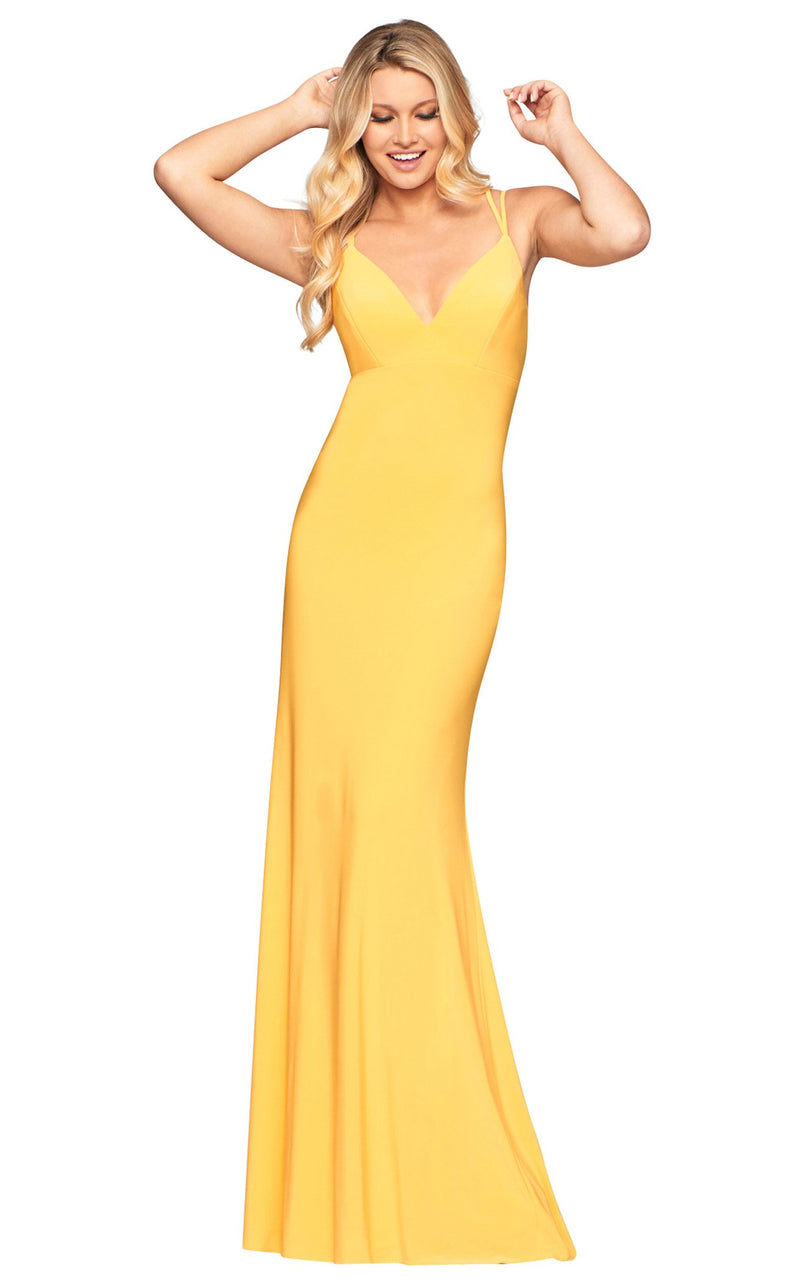 Faviana S10418 Dress Daffodil