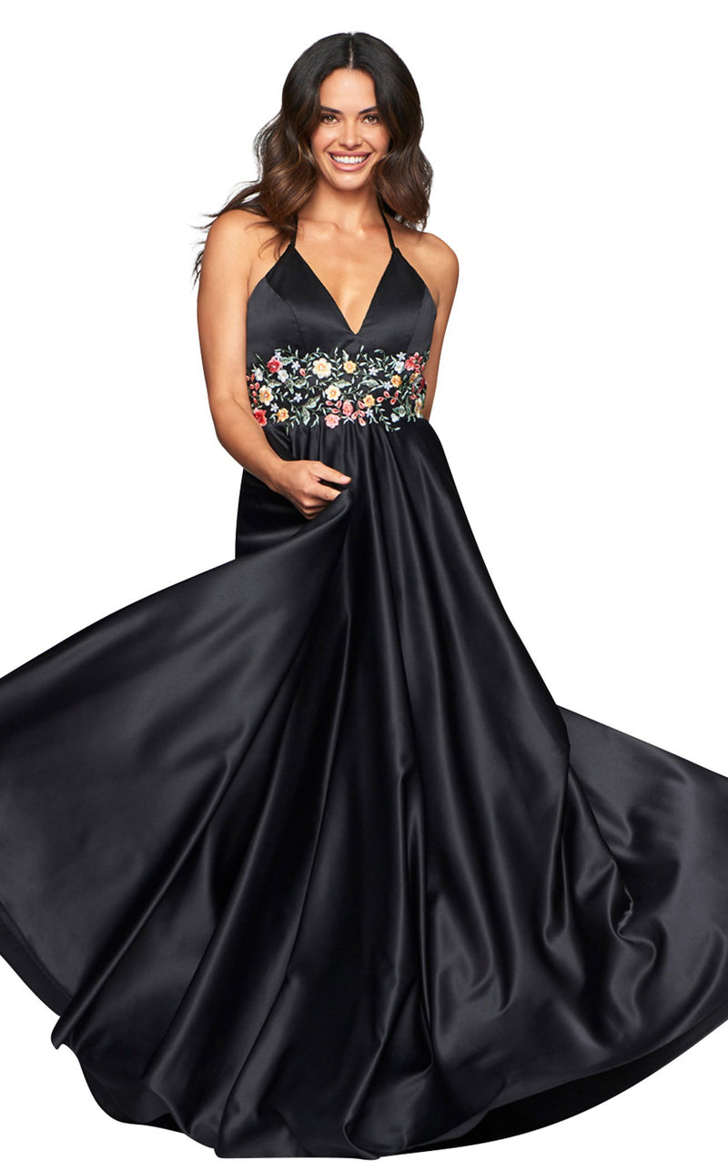 Faviana S10423 Dress Black
