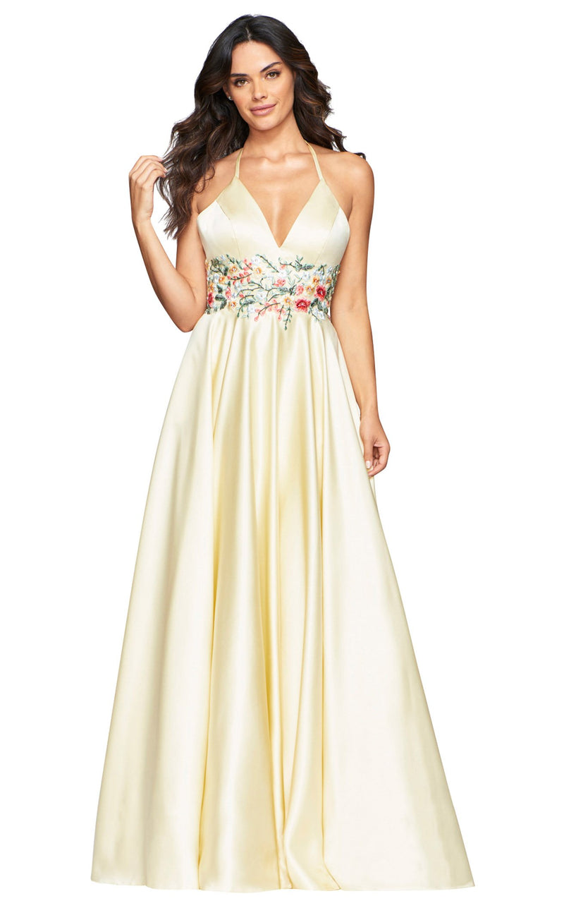 Faviana S10423 Dress Buttercream