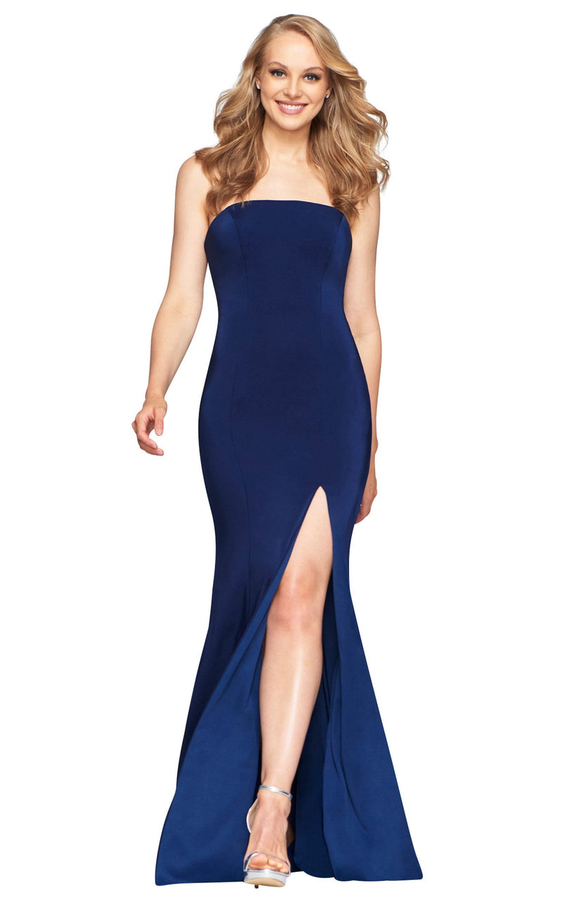 Faviana S10437 Dress Navy