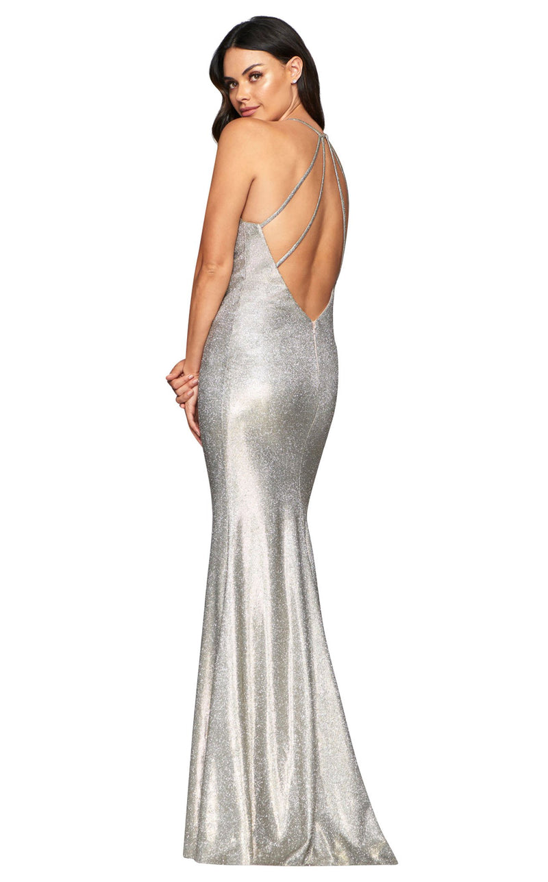 Faviana S10455 Dress Silver-Gold