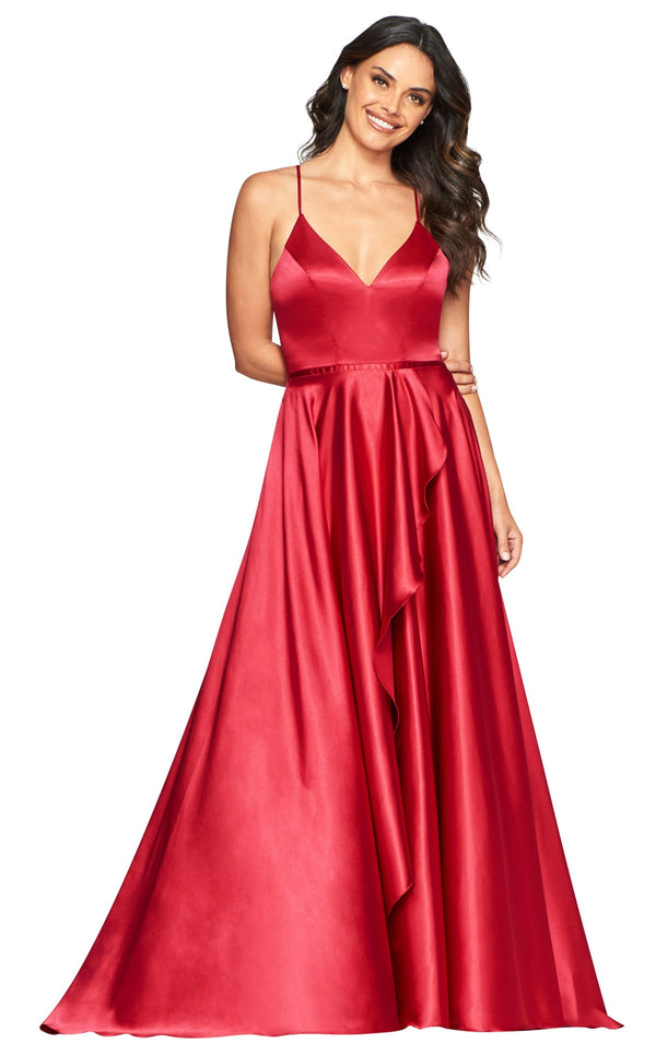 Faviana S10460 Dress Red