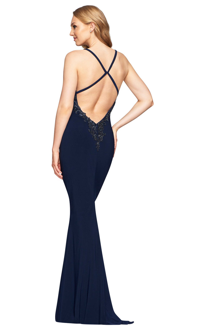 Faviana S10468 Dress Navy