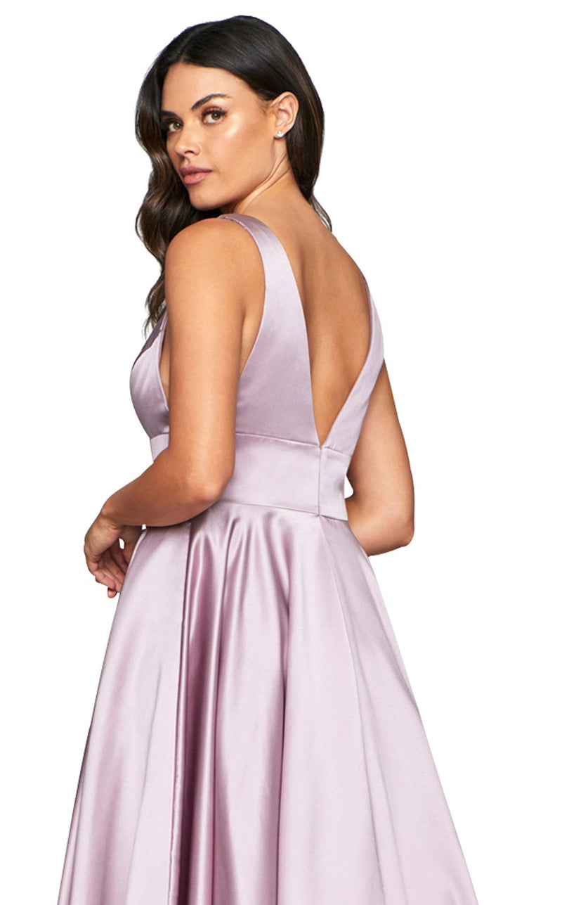 Faviana S10474 Dress Deep-Mauve