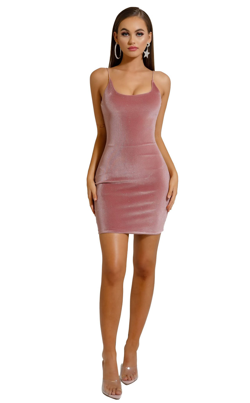 Portia and Scarlett S109 Dress Pink