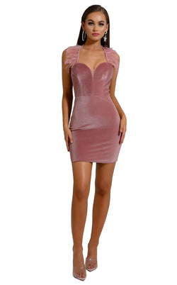 Portia and Scarlett S110 Dress Pink