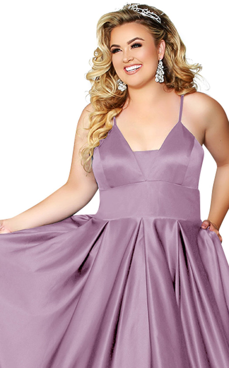 Sydneys Closet SC7270b Dress Wisteria