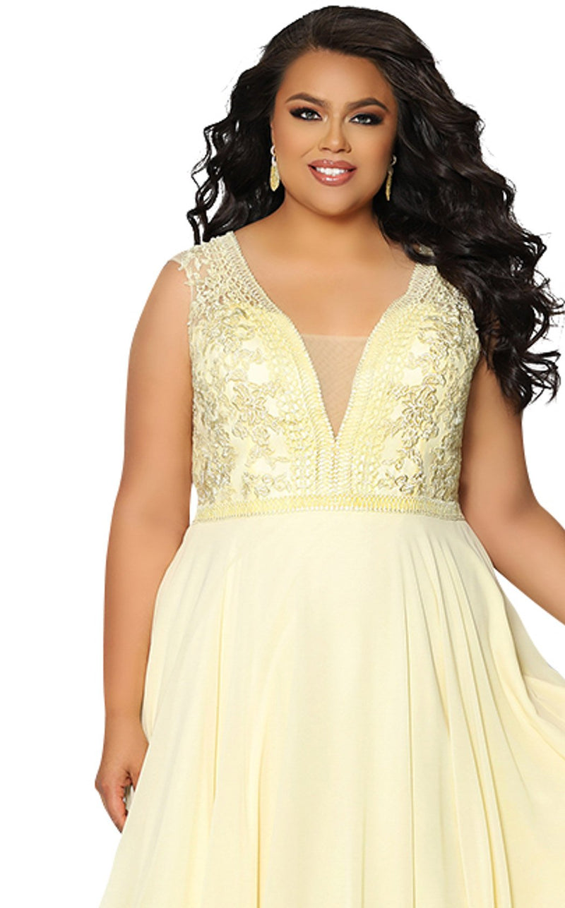 Sydneys Closet SC7280 Dress Daffodil