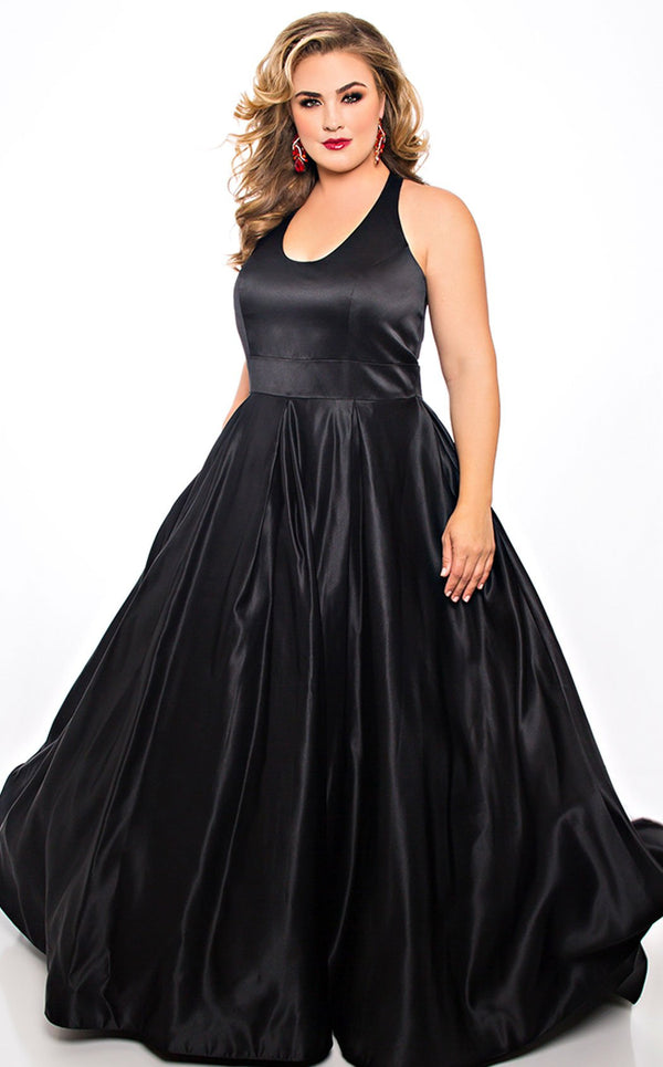 Sydneys Closet SC7293 Dress Black