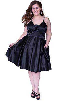 Sydneys Closet SC8092 Dress Black