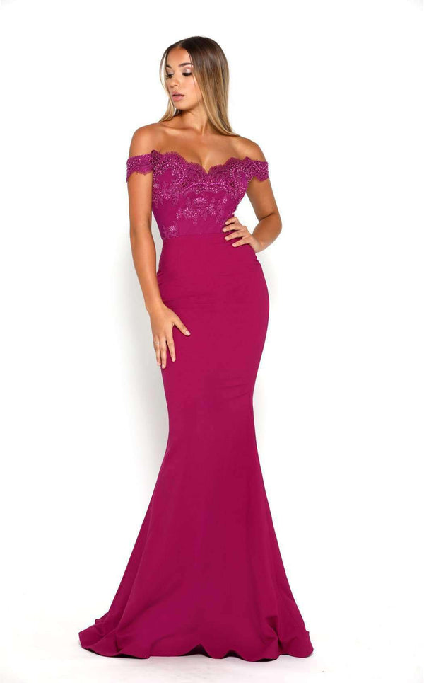 Portia and Scarlett Sienna Gown Crepe WH