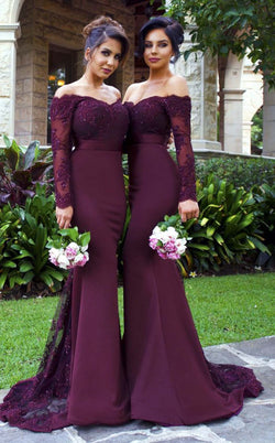 Portia and Scarlett Sienna Long Sleeve Gown