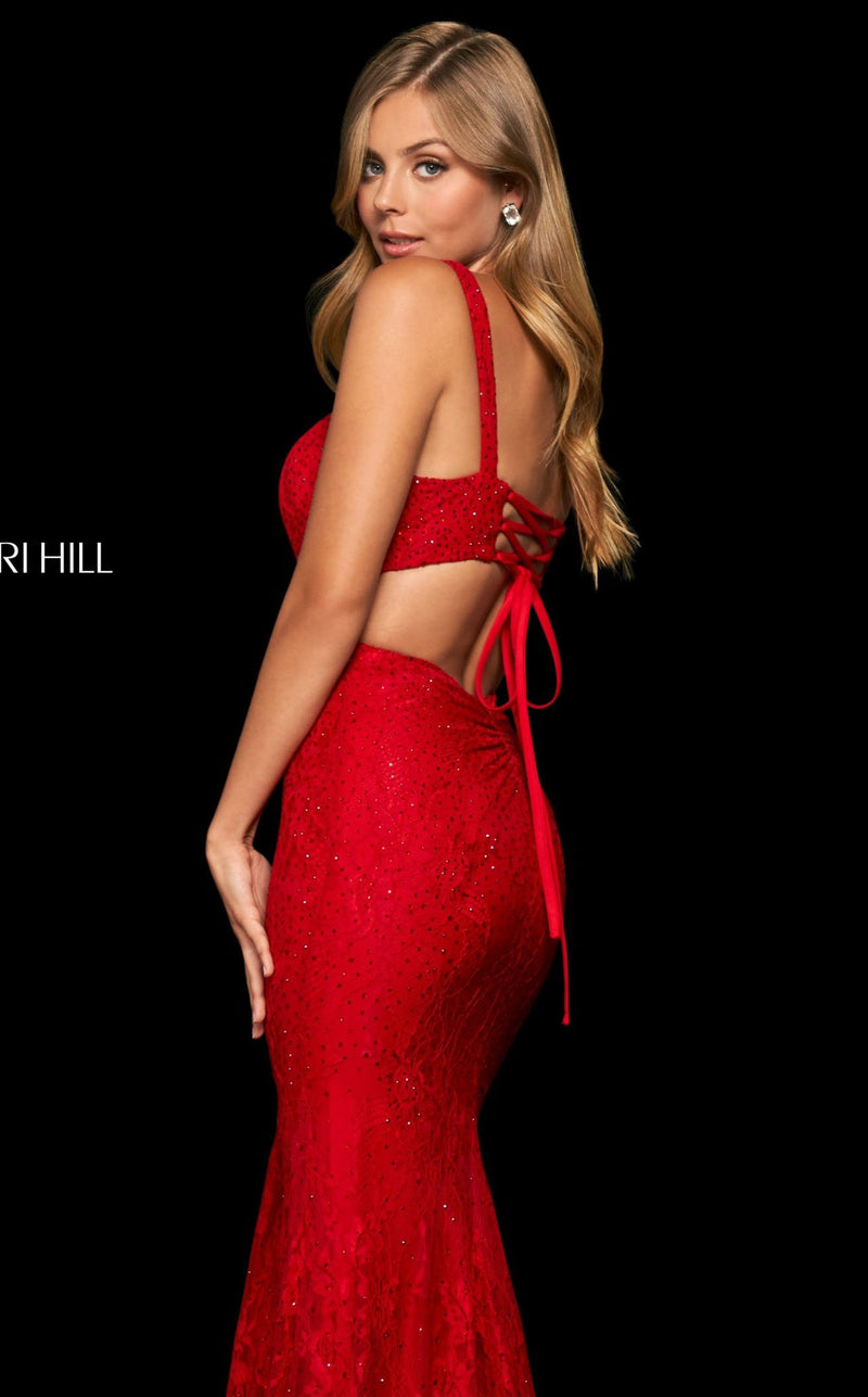 Sherri Hill 53923 Red