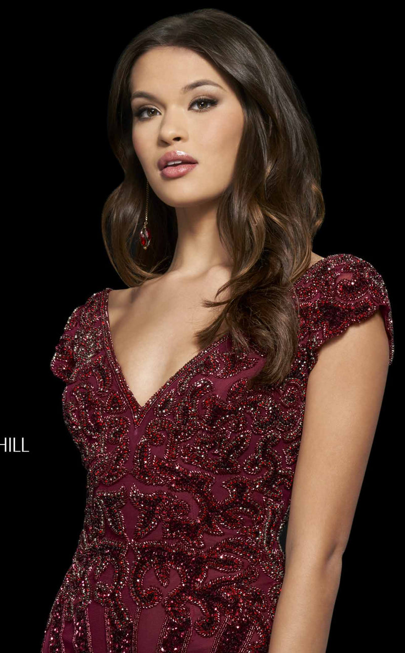 Sherri Hill 53927 Burgundy