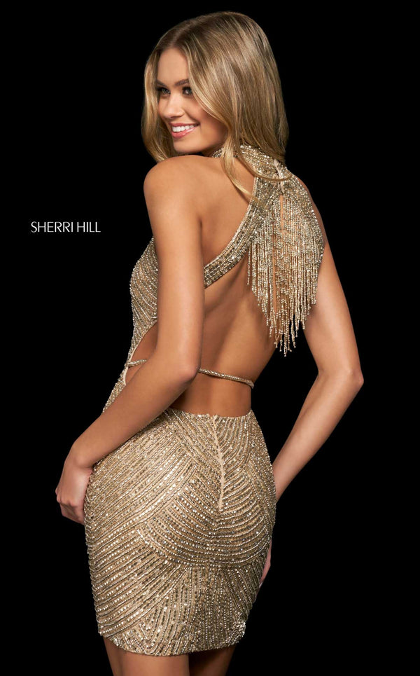 Sherri Hill 53937 Gold