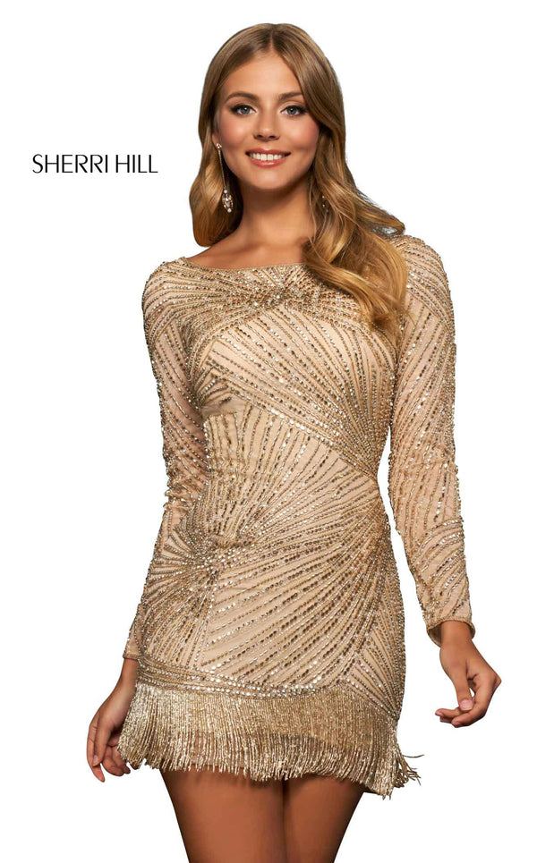 Sherri Hill 53941 Gold