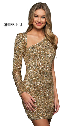 Sherri Hill 53961 Gold