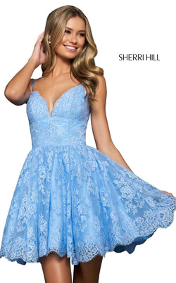 Sherri Hill 53967 Light Blue