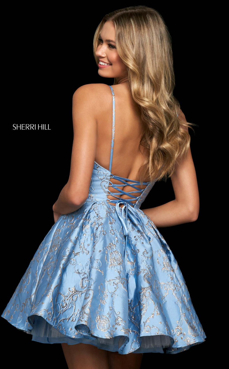 Sherri Hill 53978 Light Blue