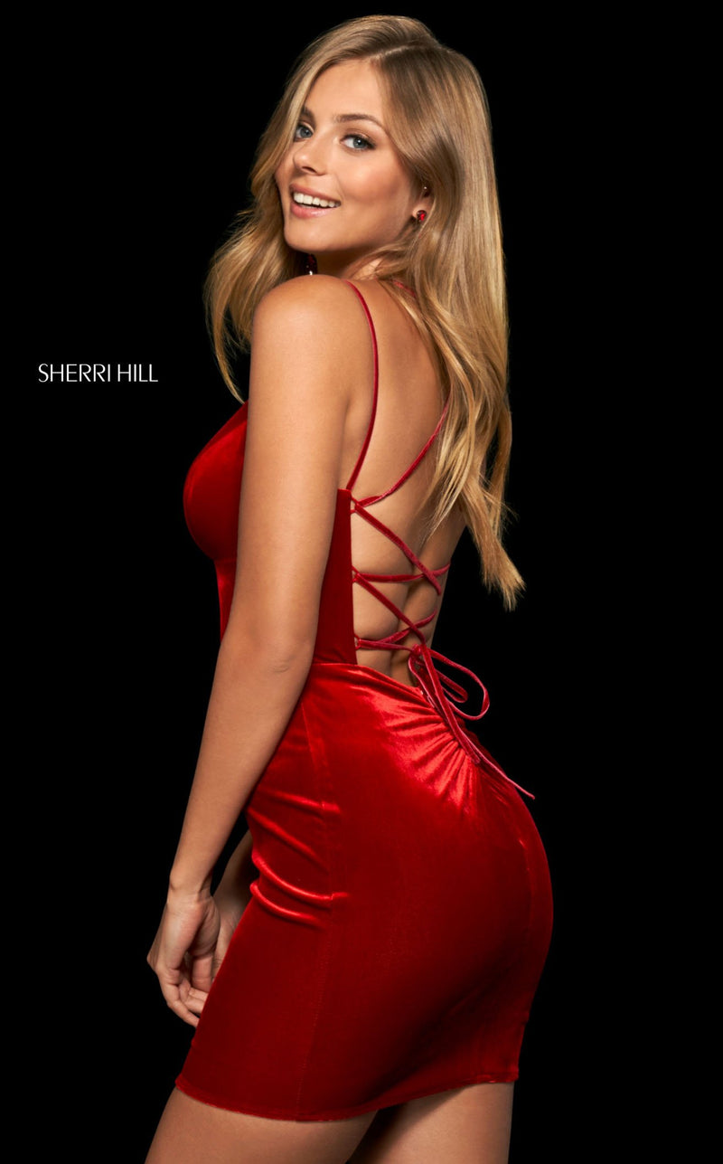 Sherri Hill 54006 Red