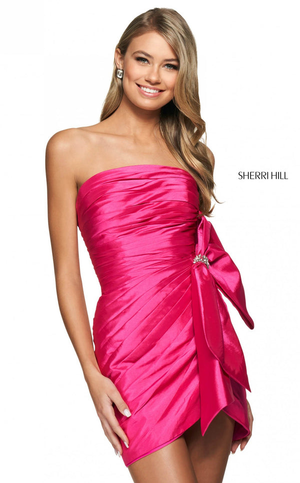 Sherri Hill 54018 Bright Pink