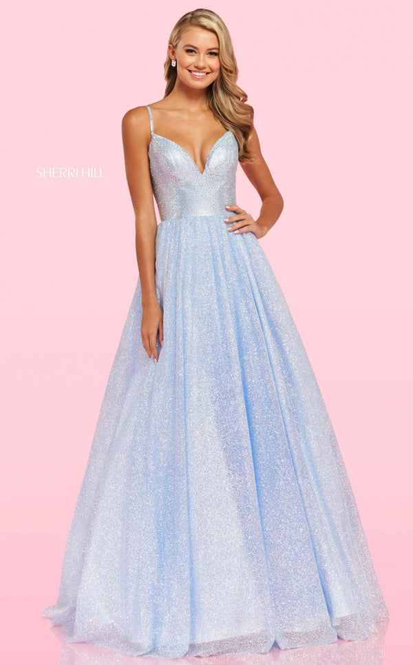 Sherri Hill 54205 Dress Periwinkle