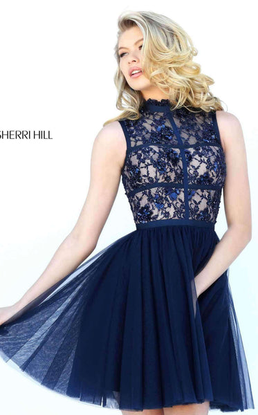 Sherri Hill 50636 Navy