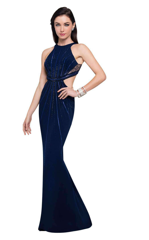 Terani Couture Gowns & Dresses. light gold, black, navy blue ...