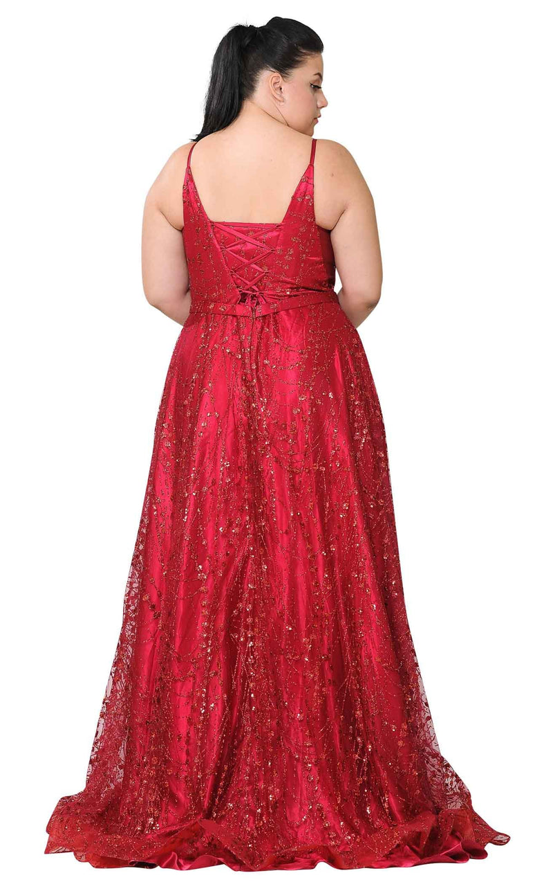 Lindas W1004 Dress Red