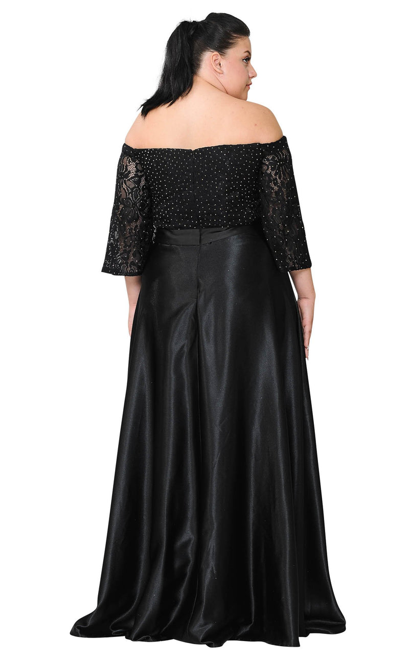 Lindas W1008 Dress Black