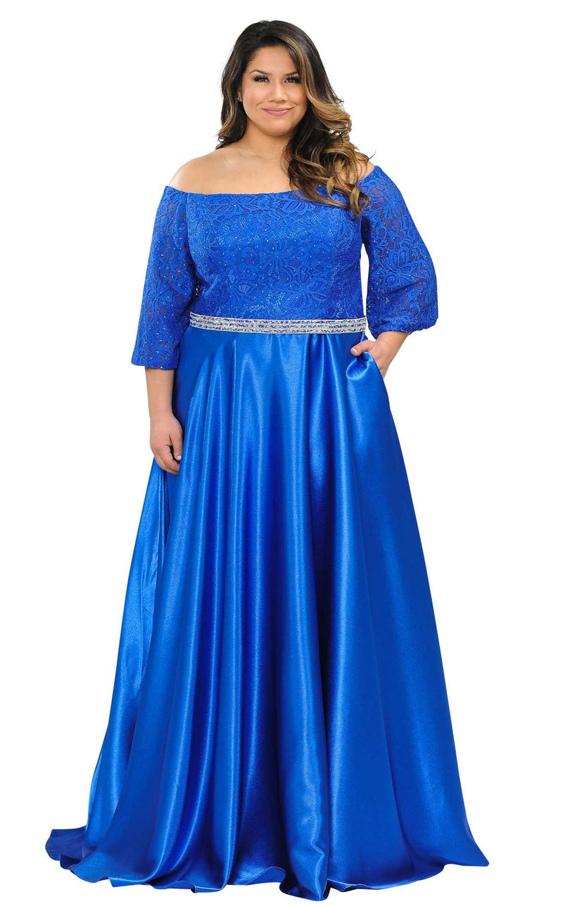 Lindas W1008 Dress Royal