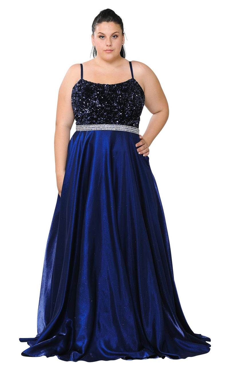 Lindas W1018 Dress Navy