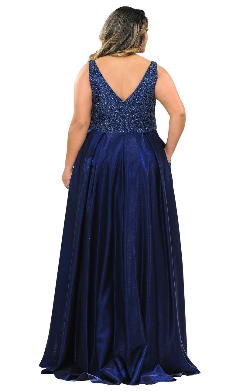 Lindas W1066 Dress Navy