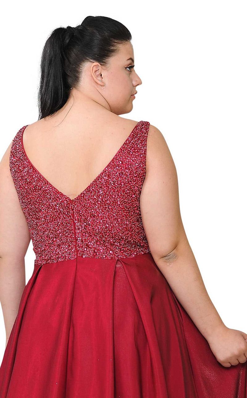 Lindas W1066 Dress Red