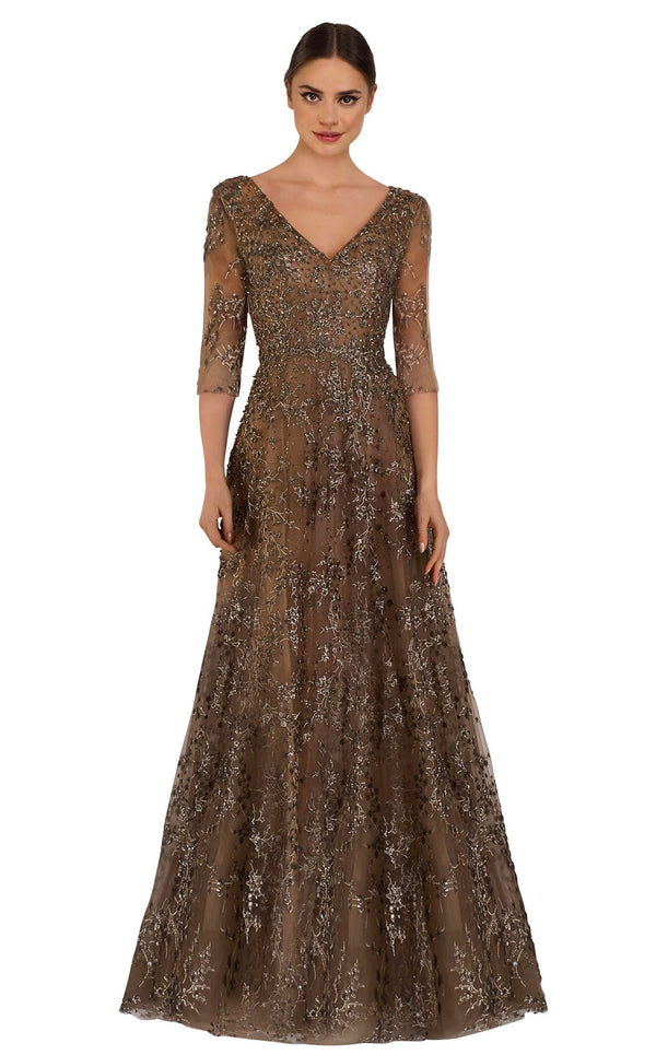 Janique W2519 Dress Bronze