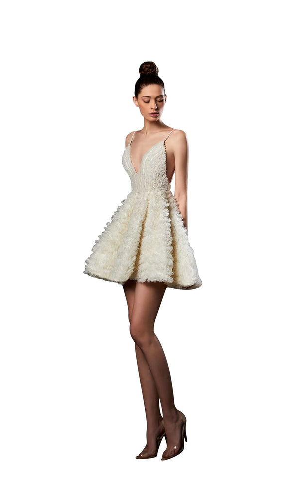 Ziad Germanos ZG47 Dress Ivory