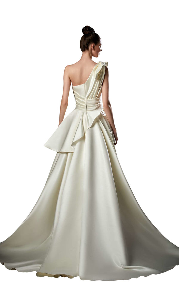 Ziad Germanos ZG48 Dress Ivory